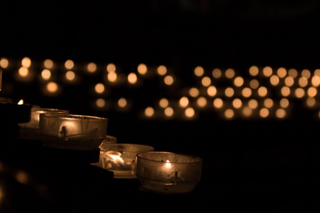 prayer, candle